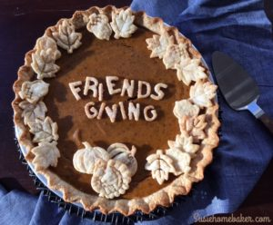 Friendsgiving Pumpkin Pie